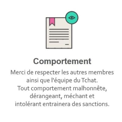 Règles du Tchat Gratuit de Rencontre-Moche.eu
